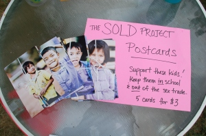 Selling SOLD Postcards