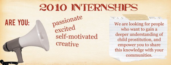 Internship Banner