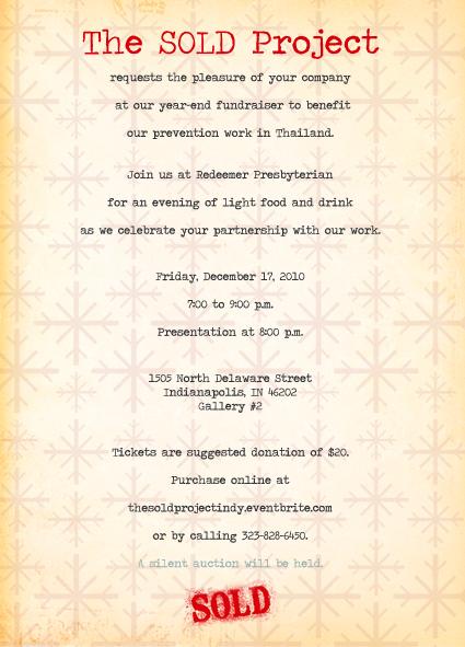 Indianapolis Invitation