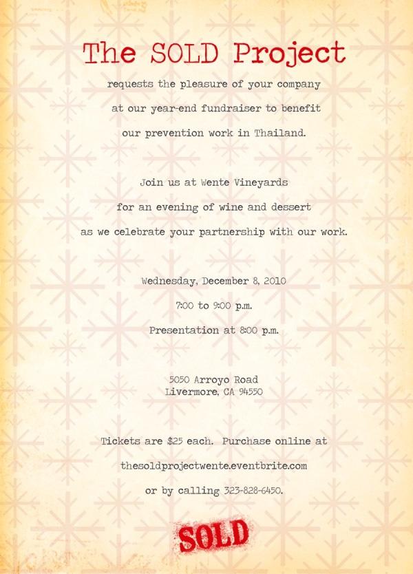 Wente Invitation 2010