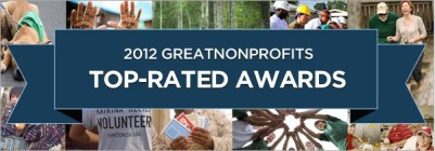 GreatNonprofits 2012 Top-Rated Awards